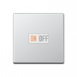 Диммер нажимной (кнопочный) 400Вт для л/н и эл.трансф., цветАлюминий,A500,Jung