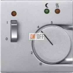 Терморегулятор для теплого пола (оригинальный), цветАлюминий,A500,Jung