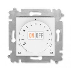 Терморегулятор для теплого пола, цвет Белый/Ледяной, Levit, ABB