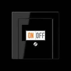 Розетка аудио для колонок 1-ая, цвет Черный, A500, Jung