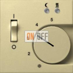 Терморегулятор для теплого пола (Eberle), цвет Бежевый, Gira
