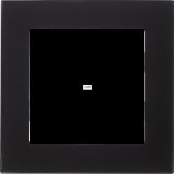 Рамка 1-ая (одинарная), Стекло Черное, серия Atlas Design Nature, Schneider Electric