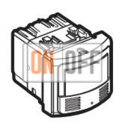 Датчик движения 400Вт (ИК+ультразвук) с ручн.упр. 2-х проводная схема, цвет Алюминий, LivingLight, Bticino