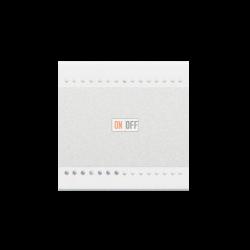 Выключатель 1-клавишный  (винтовые клеммы), цвет Белый, LivingLight, Bticino