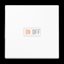 Диммер нажимной (кнопочный) 400Вт для л/н и эл.трансф., цвет Белый, LS990, Jung