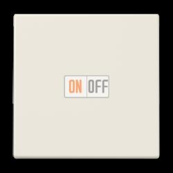 Выключатель 1-клавишный; кнопочный , цвет Бежевый, LS990, Jung