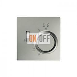 Терморегулятор для теплого пола (Eberle), цвет Edelstahl (сталь), LS990, Jung