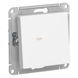 Выключатель 1-клавишный; влагозащищенный IP44 проходной (с двух мест), Белый, серия Atlas Design, Schneider Electric