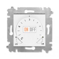 Терморегулятор для теплого пола, цвет Белый/Белый, Levit, ABB