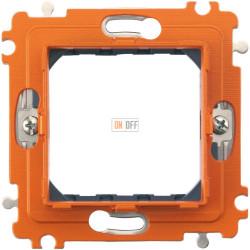 BT Axolute Суппорт 2 мод с винтами в комплекте с защитной крышкой и рамкой