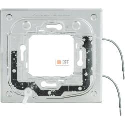 BT Axolute Суппорт с подсветкой 230 Вт 2,5мА 0,3Вт для прямоуг. рамки 2 мод