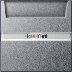 Выключатель карточный для гостиниц, цвет Алюминий, Gira