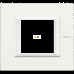 Рамка 1-ая (одинарная) прямоугольная, цвет White, Axolute, Bticino