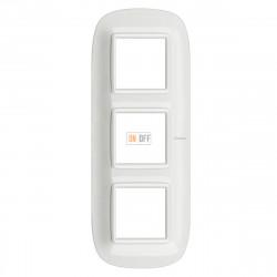 Рамка 3-ая (тройная) эллипс, цвет White, Axolute, Bticino