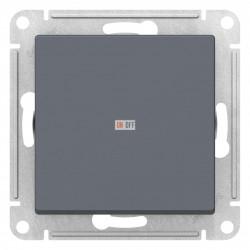 Выключатель 1-клавишный, перекрестный (с трех мест), Грифель, серия Atlas Design, Schneider Electric