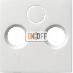Розетка телевизионная проходная ТV-FМ, цвет Белый, Gira