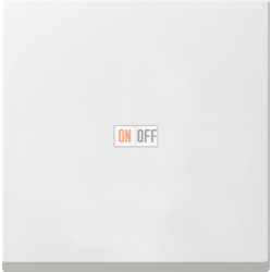 Диммер нажимной (кнопочный) 400Вт для л/н и эл.трансф., цвет Белый, Gira