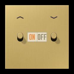 Выключатель для жалюзи (рольставней) с фиксацией (тумблер-цилиндр), цвет Classic, LS1912