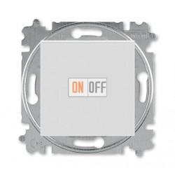 Выключатель 1-клавишный; кнопочный, цвет Серый/Белый, Levit, ABB