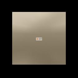 Выключатель 1-клавишный, Шампань, серия Atlas Design, Schneider Electric
