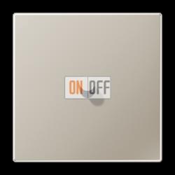 Выключатель 1-кл кноп. (тумблер-конус), цвет Нерж. сталь, LS1912