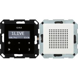 Радио с динамиком, цвет Белый, Gira