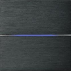 Basalte 201-02 Sentido лицевая панель 2 - клавишная - brushed dark grey