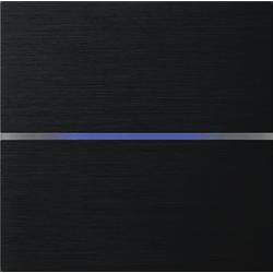 Basalte 201-03 Sentido лицевая панель 2 - клавишная - brushed black