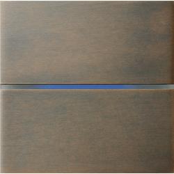 Basalte 201-05 Sentido лицевая панель 2 - клавишная - bronze
