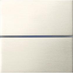 Basalte 201-07 Sentido лицевая панель 2 - клавишная - brushed nickel