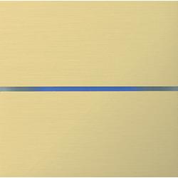 Basalte 201-08 Sentido лицевая панель 2 - клавишная - brushed brass