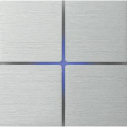 Basalte 202-01 Sentido лицевая панель 4 - клавишная - brushed aluminium