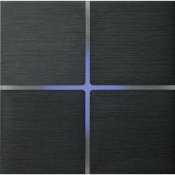 Basalte 202-02 Sentido лицевая панель 4 - клавишная - brushed dark grey