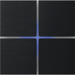 Basalte 202-03 Sentido лицевая панель 4 - клавишная - brushed black