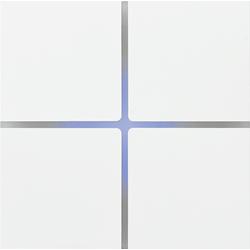 Basalte 202-04 Sentido лицевая панель 4 - клавишная - satin white