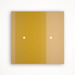 2 - клавишный выключатель Tense KNX INTGG2 Glass Gold