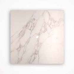 1 - клавишный выключатель Tense KNX INTSCM1 Stone Calacatta Marble