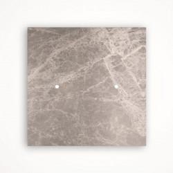 2 - клавишный выключатель Tense KNX INTSEGM2 Stone Emperador Grey Marble