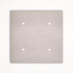 4 - клавишный выключатель Tense KNX INTSFW4 Stone French White
