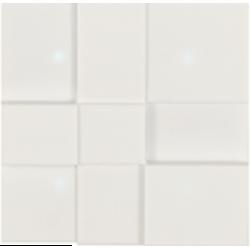 """4 - клавишный выключатель, 8 функций, акрил """"Corian Carrea white"""""""