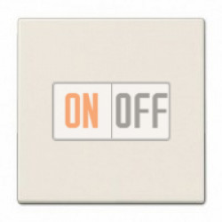 JUNG Мех Выключатель 1-клавишный кнопочный (1 НО контакт) 531U - LS990