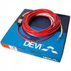 Нагревательный кабель Devi двужильный для труб Deviflex DTIV-9 206 / 225 Вт 25 м