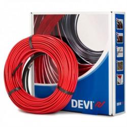 Нагревательный кабель Devi одножильный Deviflex DSIG-20 2415 / 2640 Вт. Длина 131 м