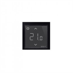 Терморегулятор DEVIreg™ Smart терморегулятор интеллектуальный с Wi-Fi, черный, 16А