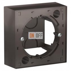 Коробка накладного монтажа Schneider Electric Atlasdesign, мокко