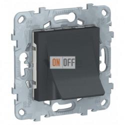 Вывод для кабеля диаметром до 12 мм Schneider Unica New, антрацит