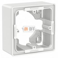 Одноместная коробка для накладного монтажа Schneider Electric Unica Studio, белый
