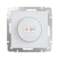 Светорегулятор поворотный Werkel до 600 Вт белый