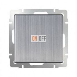 Выключатель одноклавишный Werkel 10A/250В глянцевый никель