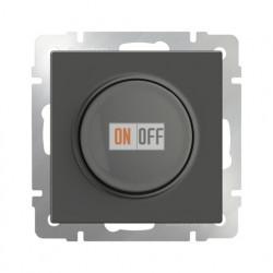 Светорегулятор поворотный Werkel до 600 Вт серо-коричневый